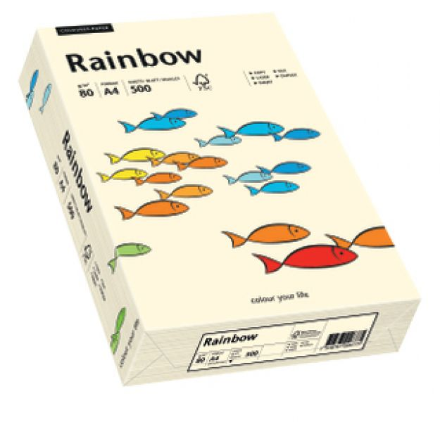 Rainbow A4 80grams 500vel